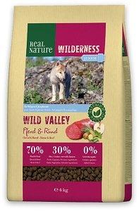 REAL NATURE WILDERNESS száraz kutya eledel (többféle) Pl. junior lóhús&marha 4kg