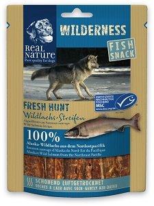 REAL NATURE WILDERNESS Fish Snack kutyáknak (többféle) Pl. Fresh Hunt lazac 70g