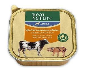 10+2 AKCIÓ - REAL NATURE Classic tálkás kutya eledel 100g 1 db ára (10+2 esetén):