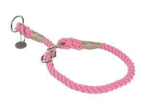 Naturelly Good kutya nyakörv kötél pink S 40cm