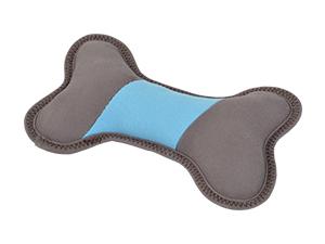Naturelly Good kutyajáték csont kék, barna 23cm
