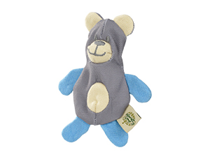 Naturelly Good cicajáték medve tölthető kék 12×5