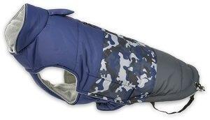 AniOne télikabát csíkos kék (több méret) Pl. 26cm
