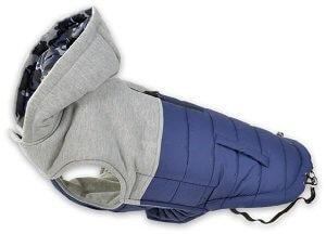 AniOne télikabát kapucnival szürke (több méret) Pl. 26cm