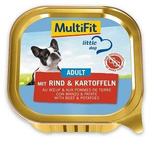 MultiFit Little Dog tálkás kutya eledel 150g (többféle)