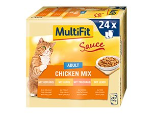 MultiFit Sauce tasak MP adult csirke 24x100g