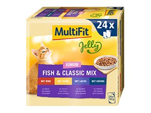 MultiFit Jelly tasak MP junior halas 24x100g