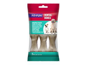 Fit+Fun Dental Bones 195g 3db