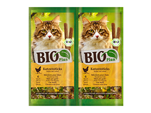 BioPlan Organic Stick szárnyas&máj 30g