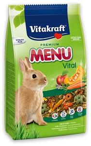 Vitakraft menü eledel kisemlősöknek (többféle) Pl. nyúlnak 1kg