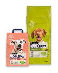 DOG CHOW kutya száraz eledel (többféle) Pl. adult bárány 14kg