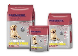PREMIERE Sensitive GF adult marha&burg 12kg