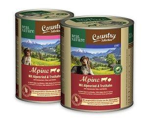 REAL NATURE Country konzerv kutyáknak (többféle) pl. 800g