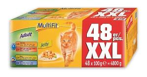 MultiFit tasakos macska eledel MP 48x100g (többféle)