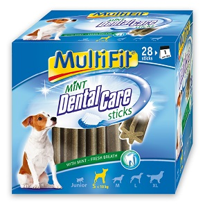 MultiFit DentalCare (többféle) Pl. adult S 4x110g 28db