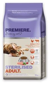 PREMIERE száraz macska eledel 2 kg (többféle)