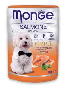 MONGE Grill tasakos kutya eledel 100g (többféle)