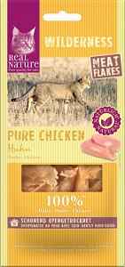 REAL NATURE WILDERNESS Meat Flakes 10g - jutalomfalat macskáknak (többféle)