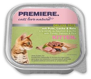 5+1 AKCIÓ - PREMIERE Cats Love Nature tálkás macska eledel 100g 1 db ára (5+1 esetén):
