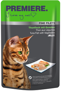 PREMIERE FineFilets tasakos macska eledel 100 g (többféle)