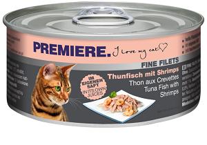PREMIERE FineFilets macska konzerv 80g (többféle)