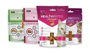 Mark&Chappell jutalomfalat cicáknak. (többféle) Pl. HB snack urinary care 65g