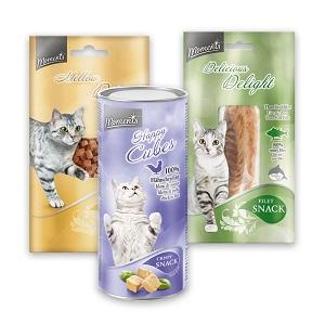 MOMENTS jutalomfalat macskáknak (többféle) Pl. Delight tonhal filé 30g