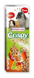 Versele-Laga Crispy duplarúd 2x55g (többféle) Pl. gyümölcsös nyúlnak/tengerimalacnak