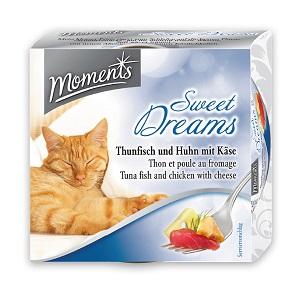 MOMENTS konzerv macskáknak 70g (többféle)