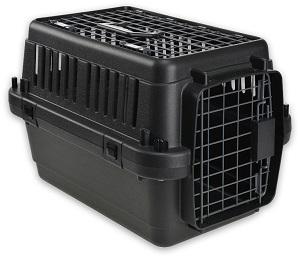 AniOne szállítóbox fekete (több méret) Pl. XS 51x33x33cm (max. 5kg)