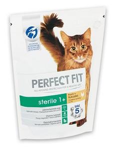PERFECT FIT száraz macska eledel 750g (többféle)