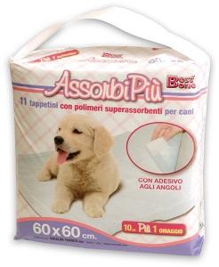 AssorbiPiu kutyapelenka (többféle) Pl. 60x60cm/ 11db