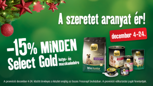 Select Gold: a szeretet aranyat ér