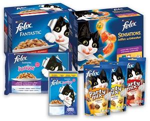 20% kedvezmény - FELIX nedves macska eledel és jutalomfalat (többféle) Pl. tasak 100g