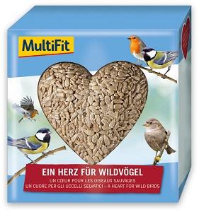 Segítség a SUKORÓI VADMADÁRKÓRHÁZNAK - MultiFit Heart madáreledel 140g