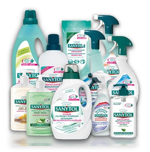 Sanytol tisztítócsalád (többféle) Pl. fertőtlenítő felülettisztító 1000ml