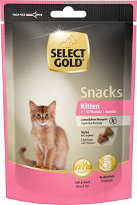 2 db esetén 20% kedvezmény - SELECT GOLD Sensitive macska snack 75g 1 db ára: