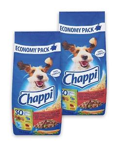 2 db esetén 15% kedvezmény - CHAPPI száraz kutya eledel 13,5kg