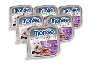 6 db esetén 20% kedvezmény - MONGE Fresh tálkás kutya eledel 100g 1 db ára: