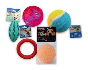 30% kedvezmény – TRIXIE kutyajáték (többféle) Pl. Világító labda sün 10cm