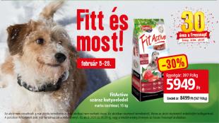 Fitt és most! – FitActive akció a Fressnapfban