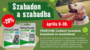 Szabadon a szabadba a Frontline Combo-val!