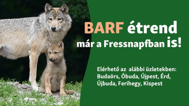 A BARF étrend már elérhető több Pest megyei Fressnapfban is!